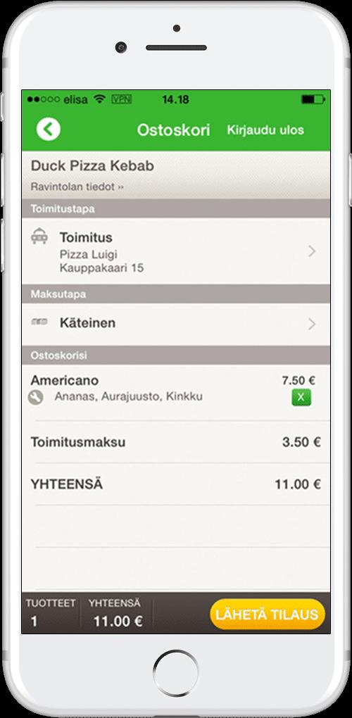 Pizza - Online - Screen