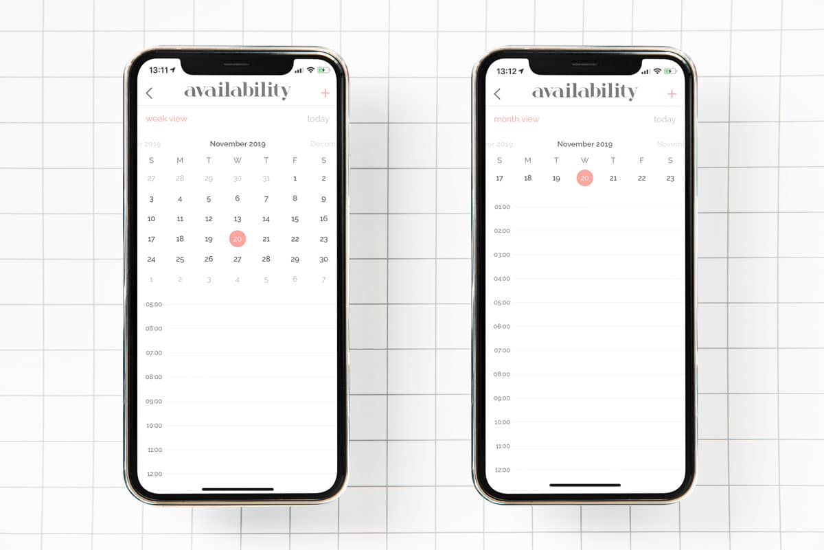 Calender iOS Components